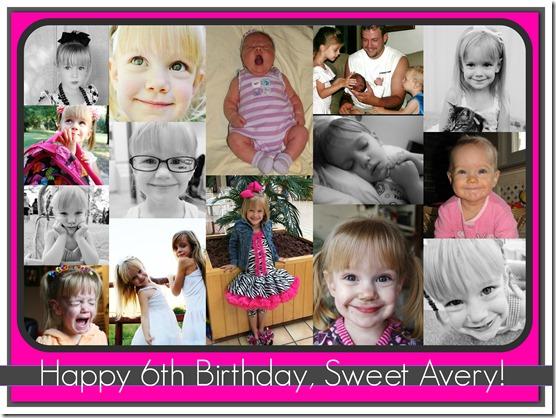Avery is 6