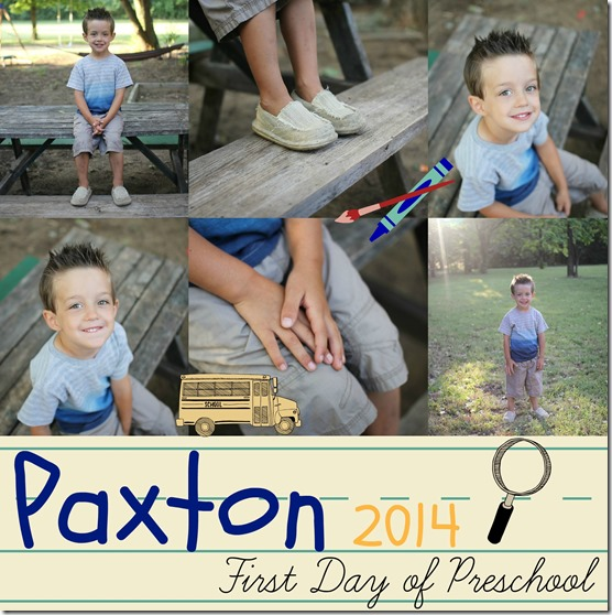 paxton first day