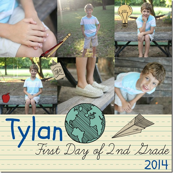 Tylan first day